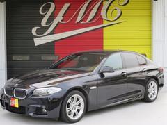 BMW528i MスポーツPKG 左ハンドル 黒革 シートヒーター