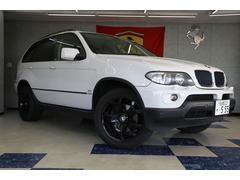 BMW X53.0i ベージュ革シート ワイドサンルーフ 社外ナビTV