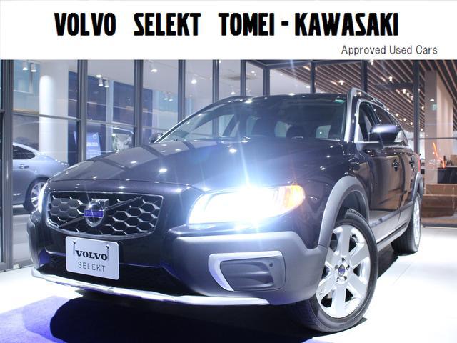 ボルボ XC70 T6 AWD SE 本革 純正HDDナビTV B...
