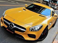 メルセデスAMG GTS 専用オプションカラー コンビレザー 黄ステッチ 鍛造AW