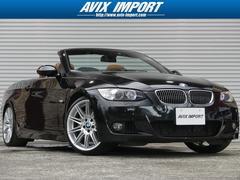 BMW335iカブリオレMスポーツ ブラウン革 HDD 19AW