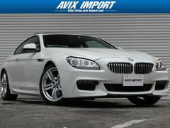 BMW650iクーペMスポーツ SR半革 HDD地デジ 禁煙1オナ