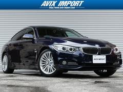 BMW420iグランクーペLUX 黒レザー HDDナビ 禁煙1オナ