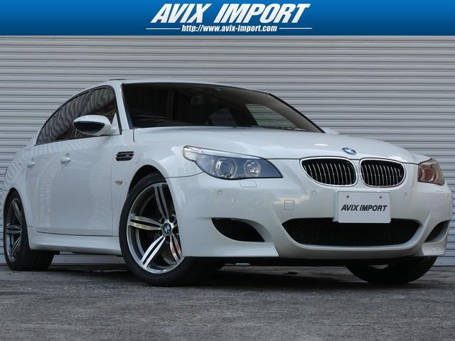 BMW M5 SR黒革ベンチレーション HDDナビ 19AW 禁煙車
