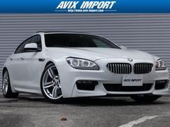 BMW650iGCMスポーツ SR黒革ベンチレーション LED禁煙