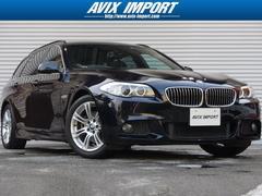 BMW523iTRGMスポーツ SR HDD地デジBカメ禁煙1オナ