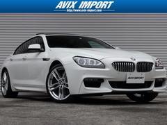 BMW650iGCMスポーツ SRアイボリー革 LED 禁煙1オナ