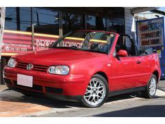 VW ゴルフカブリオレカラーコンセプト ミントコンディション 記録簿 BBSアルミ