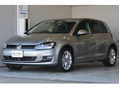 VW ゴルフTSIハイライン セーフティ Pガラス ナビ 登録済未使用車