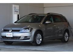 VW ゴルフヴァリアントTSIコンフォートライン ナビETC Rカメラ登録済未使用車