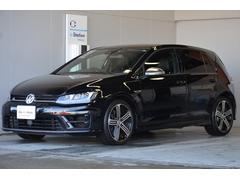 VW ゴルフRナビ ETC DCC 黒革内装 DWA保証付
