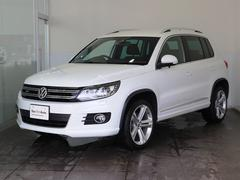 VW ティグアン2.0TSI Rライン4M ナビ ワンオーナー 認定中古車