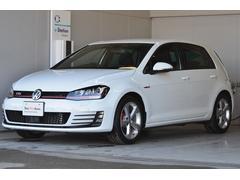 VW ゴルフGTIナビ ETC2.0 Rカメラ 後方死角検知 登録済未使用車