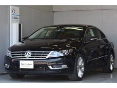 VW フォルクスワーゲンCCTSIテクノロジーPkg ナビDCC 白・黒内装 認定中古車