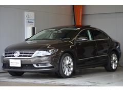 VW フォルクスワーゲンCCTSI テクノロジーPkg サンルーフ 黒革内装 認定中古車