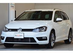 VW ゴルフヴァリアントRライン BMT 1オーナー ナビETC PDC 認定中古車