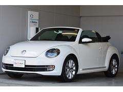 VW ザ・ビートル・カブリオレナビ ETC Rカメラ 黒革内装 17インチAW 認定中古車