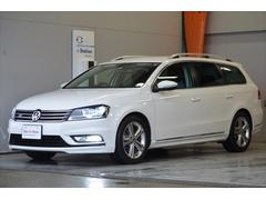 VW パサートヴァリアントRラインエディション
