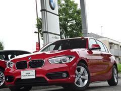 BMW118i スポーツ クルコン 衝突軽減 新型ナビ LED禁煙