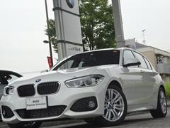 BMW118d Mスポーツ Rカメラ クルコン LED ETC禁煙
