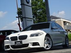 BMW528i Mスポーツ OP19インチ 黒革 リヤスポイラー