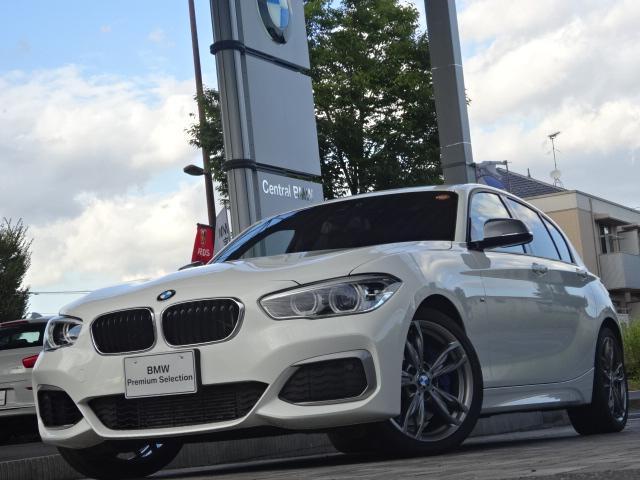 BMW 1シリーズ M135i 黒革 クルコン 18AW 禁煙 R...