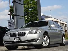 BMW523iツーリング ハイライン 黒革 クルコン ナビ ETC