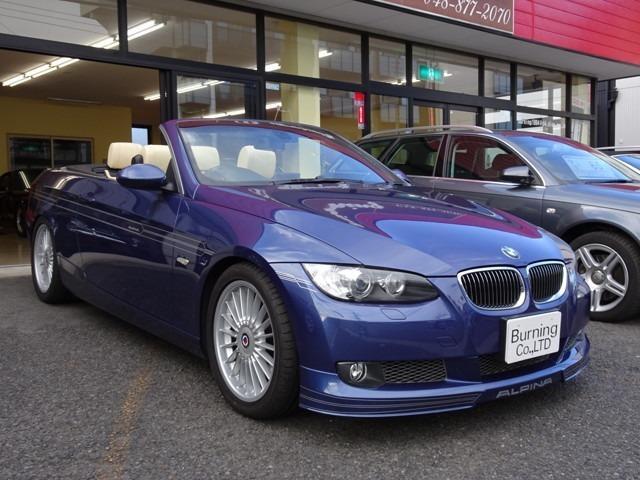 BMWアルピナ ビターボ カブリオ 燃料ポンプ交換済み
