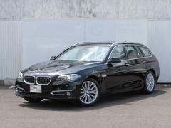 BMW523iツーリング ラグジュアリー ベージュレザー ACC