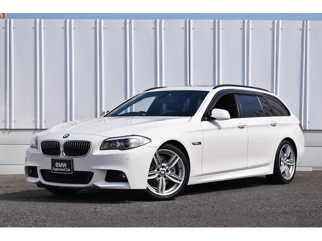 BMW 5シリーズ 523iツーリング Mスポーツ SR 黒革 1...