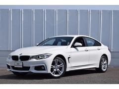 BMW420iグランクーペ Mスポーツ 認定中古車 純正ナビ