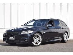 BMW523iツーリング Mスポーツ 黒革 19インチ 純ナビ