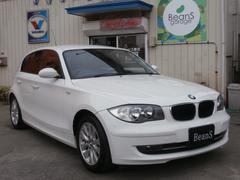 BMW116iナビアルピンホワイト