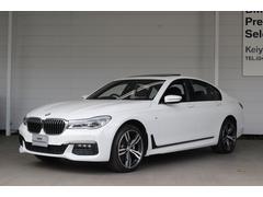 BMW740i Mスポーツ サンルーフ LED HDDナビ Bカメ