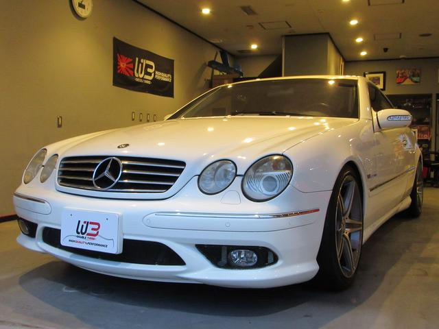 Mercedes benz cl cl55 amg 2002 white 119 700 km for Mercedes benz cl55 amg price