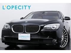 BMWアクティブハイブリッド7L ベージュレザー 純正HDDナビ