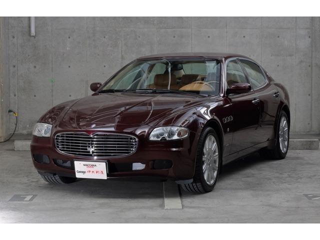 Maserati Quattroporte Basegrade 2004 Dark Red 54000 Km