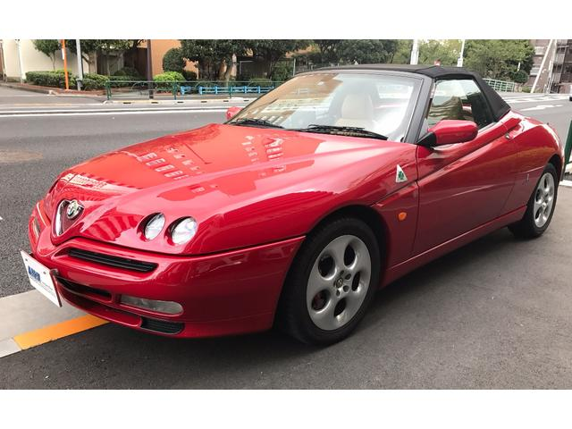 アルファロメオ アルファスパイダー 3.0 V6 24V D車右H...