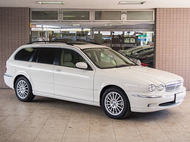 jaguar x type estate 2 5 v6se estate 2005 white. Black Bedroom Furniture Sets. Home Design Ideas