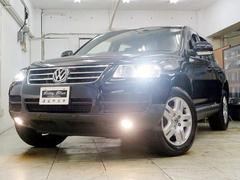 VW トゥアレグV6 エアサス 本革 HDDナビ HID Bカメラ 4WD