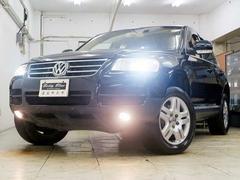 VW トゥアレグV6 本革 HDDナビ HID 18AW SR 4WD