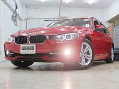 BMW320iツーリング スポーツ 1年保証 ナビTV HID