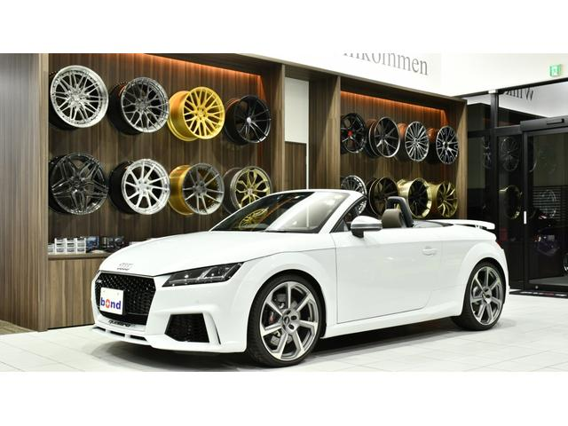 Audi Tt Rs Roadster Base Grade 2017 White 1100 Km Details