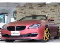 BMW650iカブリオレ ワンオーナーディーラー車 フルラッピング