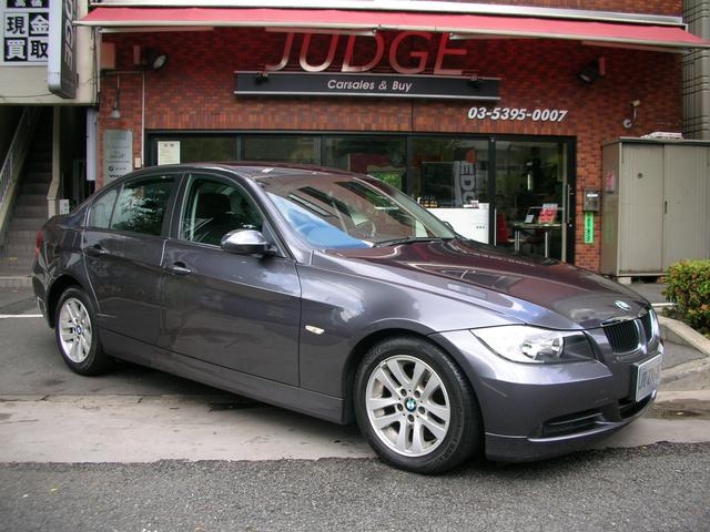 BMW 320i16インチアルミホイール ポータブルナビ