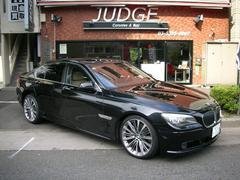 BMW750iハ−マンエアロ マフラ− ベージュレザ−S