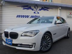 BMW750i コンフォートP 左H SR 黒革 地デジ ACC
