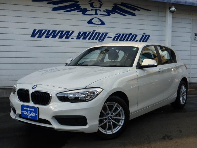 BMW 1シリーズ 118i HDDナビ 1オーナー ETC SO...