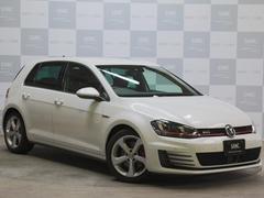 VW ゴルフGTI禁煙 純正ナビ ACC 自動ブレーキ ETC2.0