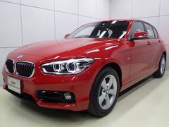 BMW118d スポーツ 後期モデル 正規認定中古車 LEDライト